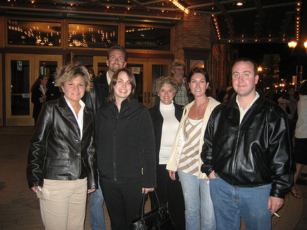 Maher fans - Carla, Hugh, Jen, Amy, Jami, Justin